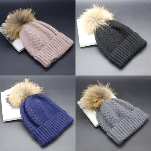 Knit Cap Winter Hat Beanie Hat