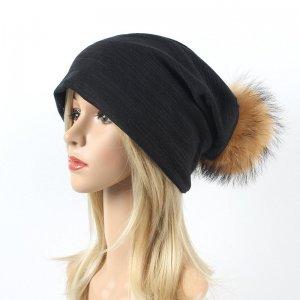 Wholesale Beanie Hat With Fur pompom
