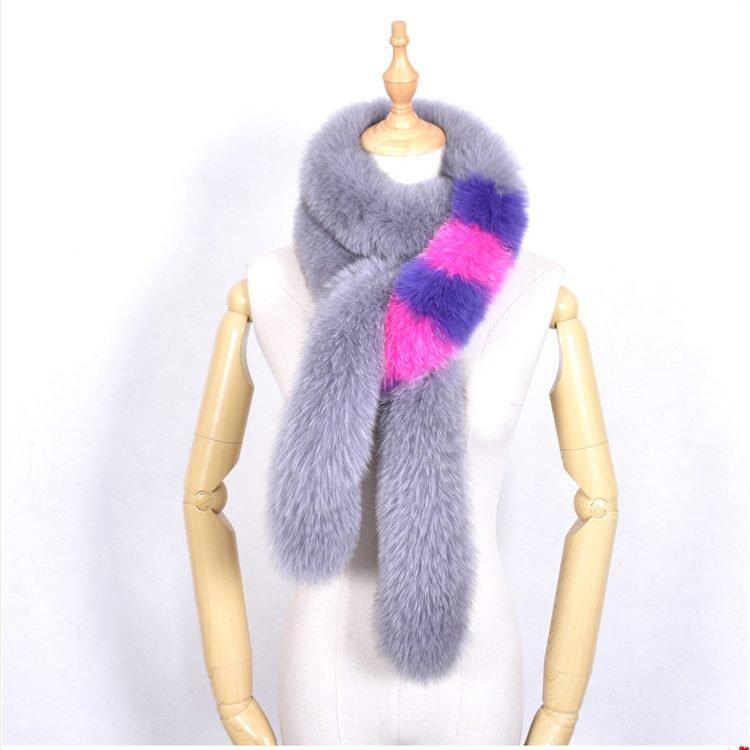 Hot Sale Fox Fur Scarf