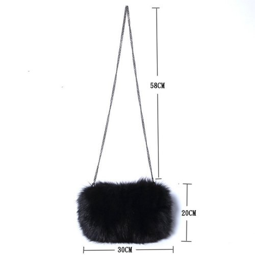 fox fur bag