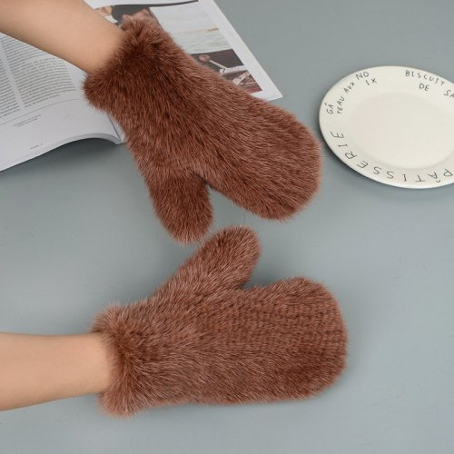 Mink Fur Gloves