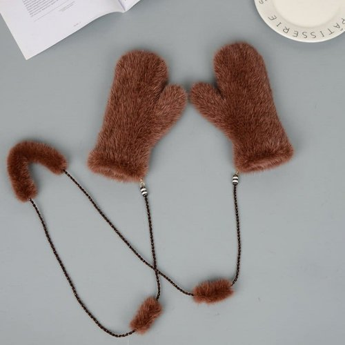 Hot Selling Mink Glove