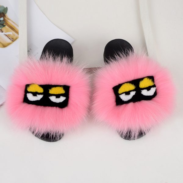 Fendi fur slides wholesale by hlfurs.com