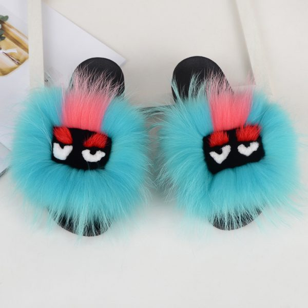 Fur slides wholesale by hlfurs.com