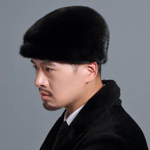 Men's Real Mink Fur Hat Wholesale HL20C034-A2