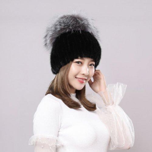 Wholesale Mink Fur Hat for Boutiques HL20C036-A