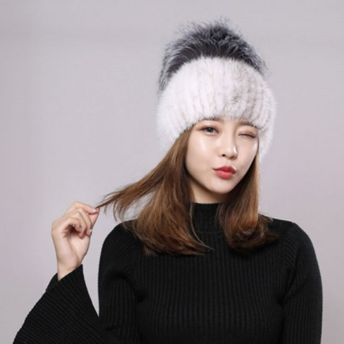 Wholesale Mink Fur Hat for Boutiques HL20C036-D