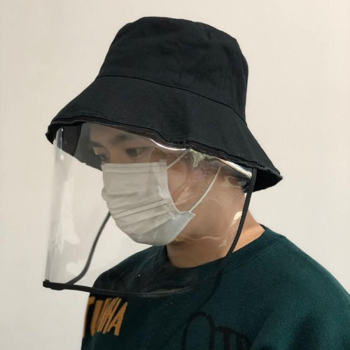 Factory Supply Anti Virus Protective Cap Face Mask Fisherman Hat HL20Z016-2