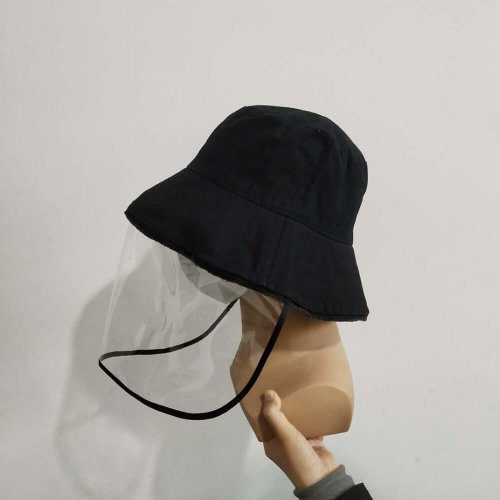 Factory Supply Anti Virus Protective Cap Face Mask Fisherman Hat HL20Z016-4