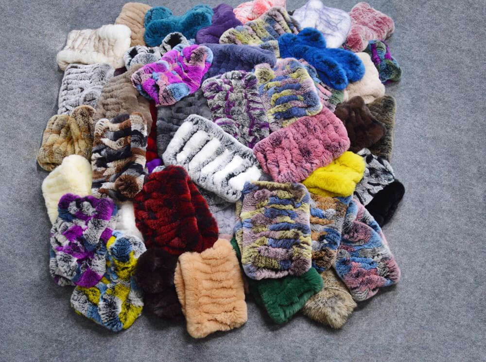 plenty of scarves